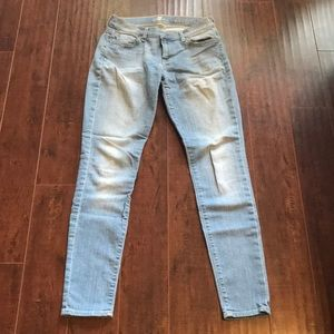 Seven Brand Light Wash Gwenevere Jeans